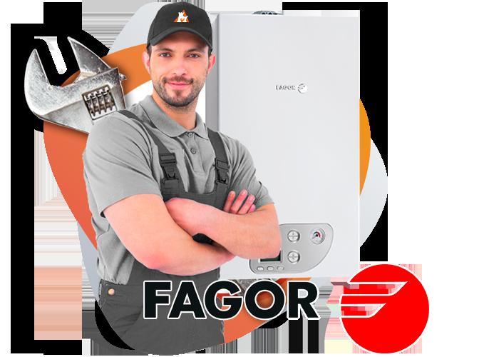 reparación calderas Fagor en torrelodones