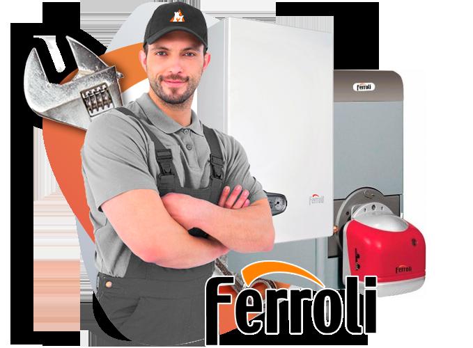 reparación calderas Ferroli en torrelodones