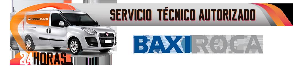 servicio técnico calderas BaxiRoca en Torrelodones