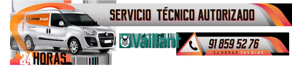 servicio técnico calderas Vaillant en Torrelodones