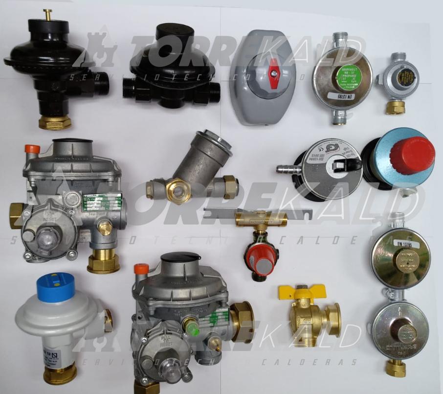 recambios de reguladores de gas en Torrelodones