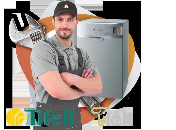 reparación calderas Tifell en Torrelodones