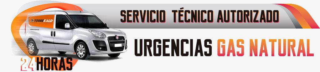 Servicio técnico urgente gas natural Torrelodones