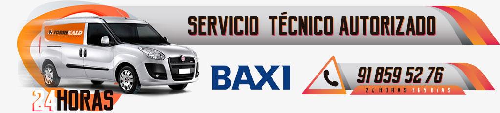 servicio técnico calderas Baxi en Torrelodones