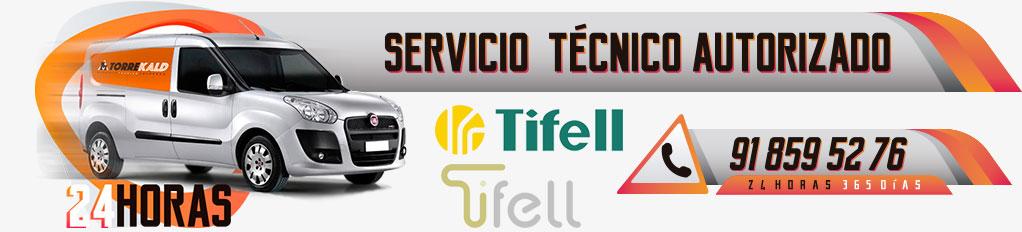 servicio técnico calderas Tifell en Torrelodones