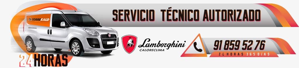 servicio técnico calderas y quemadores Lamborghini en Torrelodones