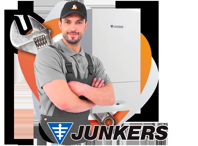 reparación calderas Junkers en Galapagar